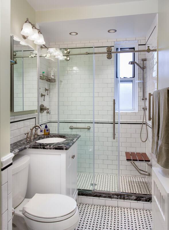 Mieszkanie W Stylu Nowojorskim łazienka