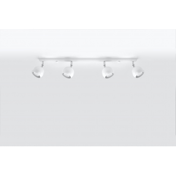 OCULARE 4 L White reflektorki listwa Sollux lighting