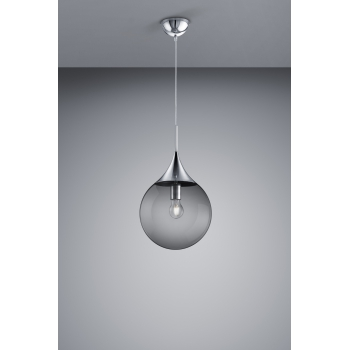MIDAS 30 lampa wisząca 301600106 Smoked Glass trio lighting